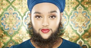 Girl with Beard